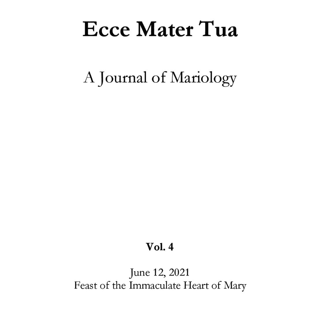 Ecce Mater Tua vol. 4